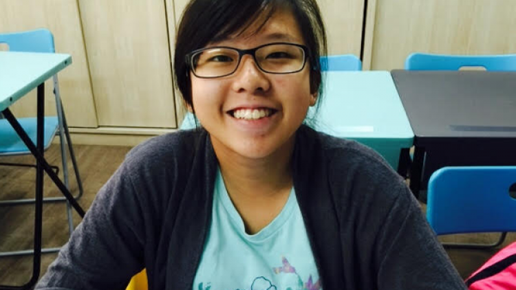 Chan Xinyi (Secondary Two in 2015)