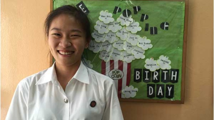 Sze Han (Secondary Four in 2015)